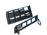 CommScope 超五类非屏蔽24口配线架(带理线环/PM2150PSE-24)